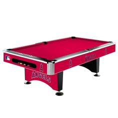 Imperial Los Angeles Dodgers Pool Table MLBcom Shop LA Dodgers - Sportcraft 8 foot pool table