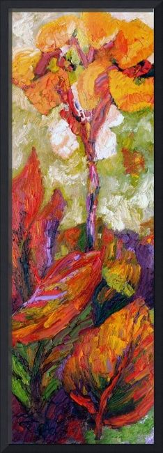 #Calla #Lily #Exotic Flower Oil Painting by Ginette