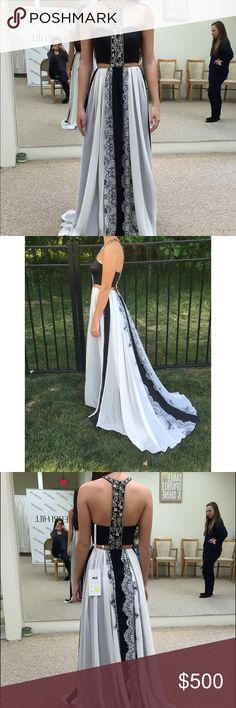 """Rachel Allan Dress Beautiful Rachel Allan dress. Worn once. It has since been spot cleaned and it is in great condition. Size 2 and hemmed about 1"""" off of the bottom. Rachel Allan Dresses Prom"""