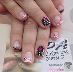 Nail Manicure, Hearts, Lily, Nail Art, Gifts, Nail Bling, Work Nails, Amor, Decorations