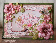 A Happy Birthday {Heartfelt Creations} - Scrapbook.com