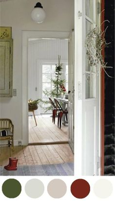 Holiday Color Story Inspiration: A Light, Danish, Winter Home
