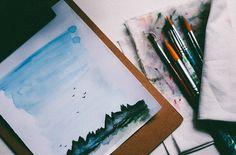 art, painting, and paint kép