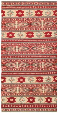 Antique Bessarabian Kilim 46903 Nazmiyal - By Nazmiyal - gorgeous ! Motif Vintage, Vintage Rugs, Textile Patterns, Textiles, Interior Rugs, Floor Art, Ancient Symbols, Persian Carpet, Antique Items