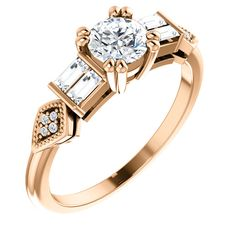 Available in Rose,Yellow ,White gold and Platinum. Wedding Engagement, Diamond Engagement Rings, Wedding Rings, Resin Ring, Rings Online, Her Style, Vintage Inspired, White Gold, Rose Gold