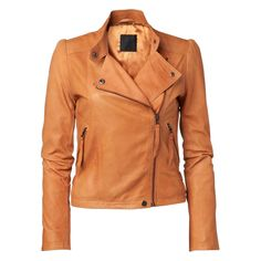 Want this! JUST FEMALE Mile leather jacket