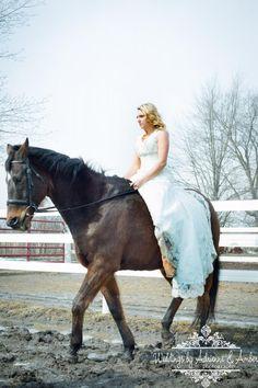 Royal Oak Wedding Photography-Weddings by Adrienne & Amber  #TrashTheDress #Photography #Bride #Farm #Horse #Country #PureMichigan #WeddingsbyAA