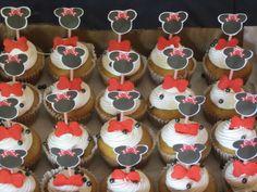 Minnie Mouse Mini Cupcakes / Creaciones Reina Sofia Ciudad Ojeda Zulia Venezuela