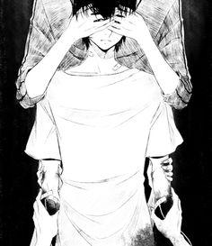 Dark anime boy Guro
