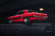 1967 Ford Mustang Notch Back can park anywhere. http://www.carid.com/tail-lights.html
