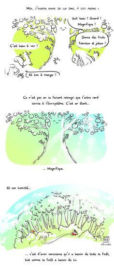 Oser être magnifique, en BD Expression Populaire, Beau Message, Kaizen, Conscience, Yoga, Magazine, French, Comics, Drawings