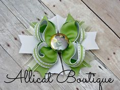 Princess and the frog Princess Tiana  boutique hair bow https://www.facebook.com/media/set/?set=a.897934796912431.1073741887.664051576967422&type=3