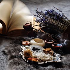 Magic | wicca | stones and herbs | witchcraft | altar