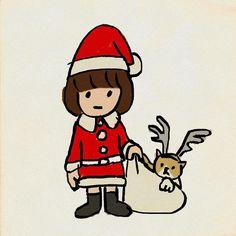 #メリークリスマス #イラスト #procreate