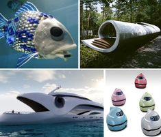 Oceanic Biomimicry: 13 Designs Inspired by the Sea