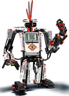 "LEGO MINDSTORMS EV3 - Lego Robot with smart QR code ""Intelligent Brick."""