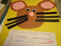 Ginger's 5K Daily Bread: Busy First Week of School! If you take a mouse to school.