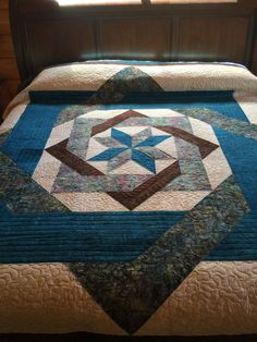 Labyrinth Star Quilt