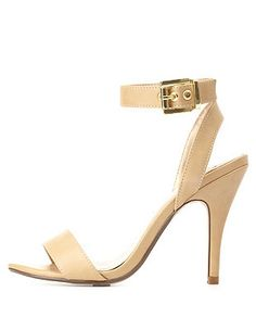 Single Strap Dress Sandals: Charlotte Russe