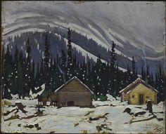 Snow, Lake O'Hara (1927) - J.E.H. MacDonald