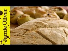 Jamie Oliver posted this simple homemade bread recipe for the millions of people who are currently locked down for Easy Bread Recipes, Fruit Recipes, Fish Recipes, Jamie's Recipes, Pizza Recipes, Good Food, Yummy Food, Healthy Food, Tasty