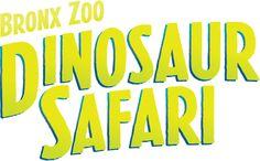 "Dino Tails Invade the Streets NY/NJ on June 20 As Part of Bronx Zoo's ""Dinosaur Safari"""