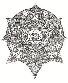 alchemy element mandala tattoo