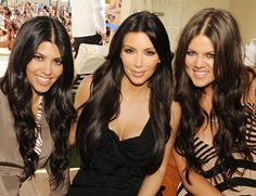 the Kardashian sisters. maybe not iconic but they complete me