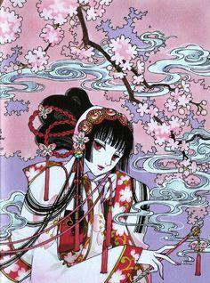 Yuuko-san, you look cool! Art Manga, Manga Artist, Manga Anime, Anime Art, Cardcaptor Sakura, Manga Illustration, Illustrations, Pretty Art, Cute Art