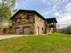 SFR, 1 Story w/basement,Log,Raised Ranch - Asheville, NC - Property - LandAndFarm.com - Land for Sale
