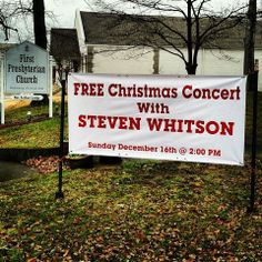 First Presbyterian Church Huntingdon is honored to have Steven Whitson in Concert on December 15 at 2pm. Please join us.  Visit https://www.facebook.com/events/232722826904439/?previousaction=join&source=1 to learn more.