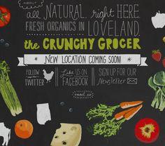 TheCrunchyGrocer #website #organic