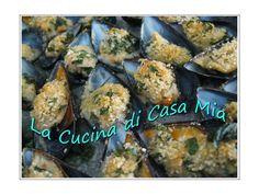 COZZE GRATIN ALLA TARANTINA https://www.facebook.com/pages/La-Cucina-di-Casa-Mia/245210672185869
