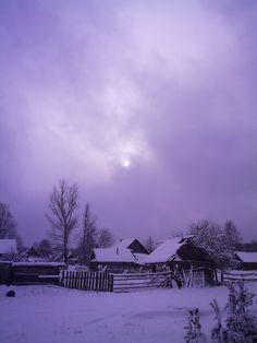 Winter in Russian village. Ukraine, Europa Tour, Lake Baikal, Russian Winter, Russian Architecture, Travel Brochure, Winter Beauty, Winter Wonder, Purple Aesthetic