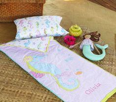 Seahorse Sleeping Bag | Pottery Barn Kids $79