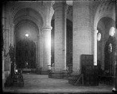 https://flic.kr/p/6MoNap | Interior of a church | Interior of a church. 1899.  <b>Name of Expedition:</b> Allison V. Armour Expedition <b>Participants:</b> Charles F. Millspaugh, Edward P. Allen, Edward S. Isham Jr.,Jordan L. Mott Jr.   <b>Expedition Start Date:</b> December 21, 1898  <b>Expedition End Date:</b> March 11, 1899 <b>Purpose and Aims:</b> Plant collecting and photography for Botany in the Bermuda, Bahamas, Haiti, Jamaica, Puerto Rico, Cuba, Yucatan.  <b>Vessel Name:</b> Utowana…