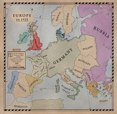 An alternate Europe 1935 map. DoD Europe by Alt-Reality on deviantART European History, World History, Ancient History, Fantasy City, Fantasy Map, Historical Maps, Historical Pictures, Imaginary Maps, Alternate History
