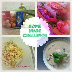 Home made challenge | mindjoy | 5 recepten maken in januari. Doe je mee?