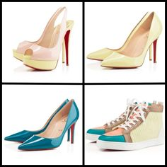 variety of summer Louboutins