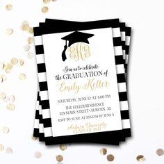 Collection of thousands of free graduation invitation template from graduation invitation monogram graduation invitation black and gold graduation invitation graduation announcement diy printable stopboris Choice Image