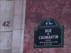 La rue de Caumartin  (Paris 9ème).