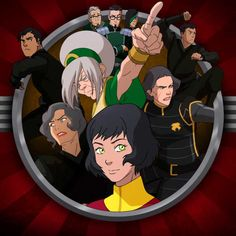 There should be a miniseries about the metal clan set in zaofu and throughout the earth nation as they help to save it from chaos. Avatar Aang, Avatar The Last Airbender, Avatar Family Tree, Lin Beifong, Iroh, Azula, Team Avatar, Korrasami, Good To See You
