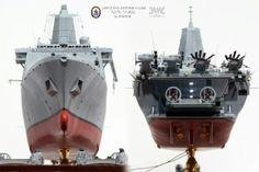 LPD-21 NEWYORK, built by master modeler Kim hyun-soo, south korea