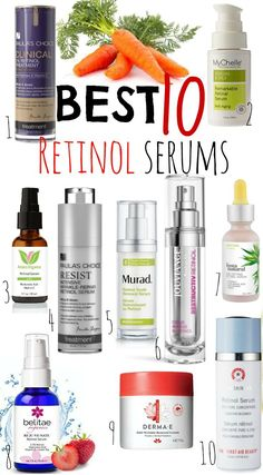 Best Retinol Serums!