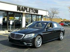 Take a look at the gorgeous new 2015 Mercedes-Benz S-Class S550!! Obsidian Black. AWD 4-matic