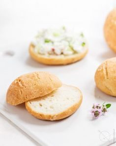 Gluten-free bread roll without yeast! Vegan Vegetarian, Vegetarian Recipes, 18th Birthday Party, Best Breakfast, Gluten Free Recipes, Free Food, Good Food, Favorite Recipes, Bread