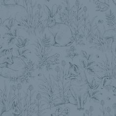 27 Trendy Ideas For Wallpaper Pattern Classic Interior Design Desktop Wallpaper Summer, Disney Phone Wallpaper, Friends Wallpaper, Live Wallpaper Iphone, Wallpaper Jungle, Bedroom Wallpaper, Forest Creatures, Woodland Creatures, Wallpaper Samples