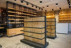 Luxury Pharmacy Shop Interior Decoration Medical Shop Design for medical retail store