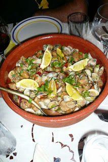 Carne de porco com ameijoas,  Pork with clams