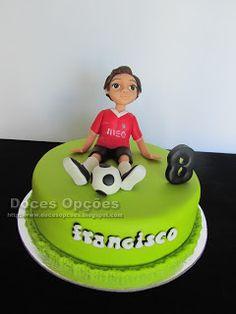 Doces Opções: Bolo de aniversário do futebolista Francisco